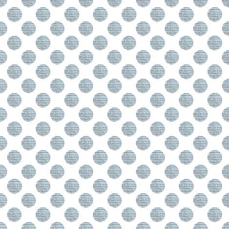 blue_tweed_polka_dots fabric by karenharveycox on Spoonflower - custom fabric