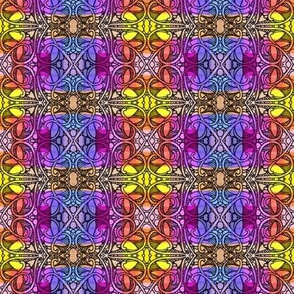 A Mid Summer's Plaid (a bright and cheerful ivy covered variation)