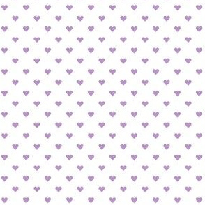 hearts mini in african violet