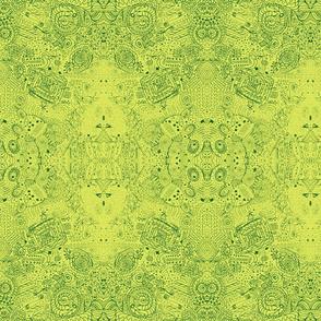 Grandma's Handkerchief Doodle Spiral Swirlygigs