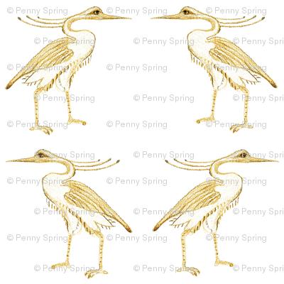 Egyptian Herons #1