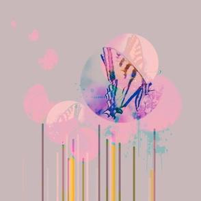 Flutter in Mauve