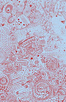 Fourth of July Grandma's Handkerchief Doodle Spiral Swirlygigs