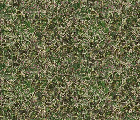 """Hydrangea Green"" fabric by jeanfogelberg on Spoonflower - custom fabric"