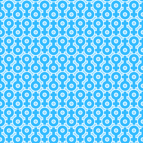 venus 2mg fabric by sef on Spoonflower - custom fabric