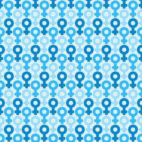venus 1x X 3 fabric by sef on Spoonflower - custom fabric