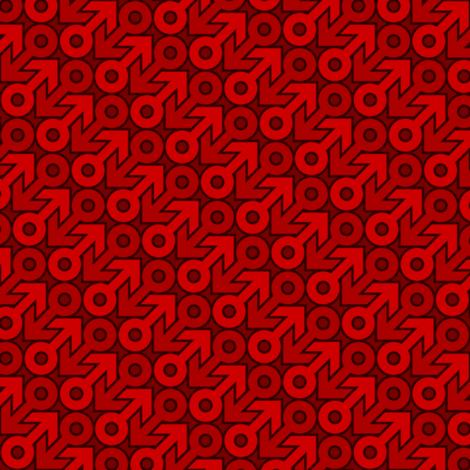 mars 2mg X 2 fabric by sef on Spoonflower - custom fabric