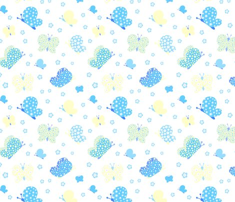 Butterfly_fabric_blue_and_yellow_8_inches_shop_preview