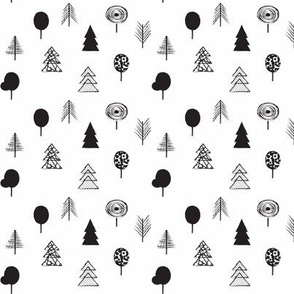 B&W trees SMALL