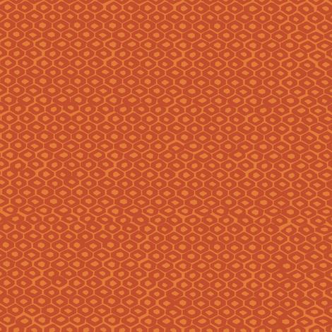 Orange_hexiesf fabric by gsonge on Spoonflower - custom fabric