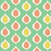 Mid-Century Easter Eggs