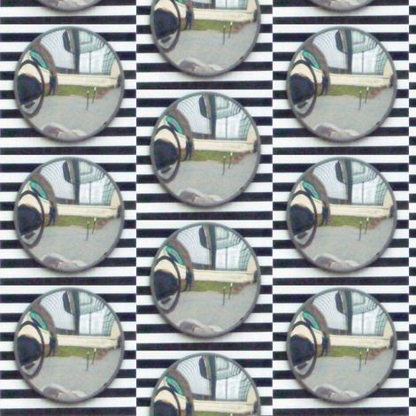 Traffic Mirror fabric by susaninparis on Spoonflower - custom fabric