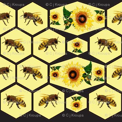 Honeycomb (Black and Yellow)