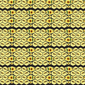 Honeycomb (Black and Yellow)