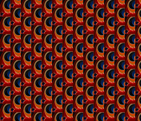 Our Earth:Galaxies fabric by krussimages on Spoonflower - custom fabric