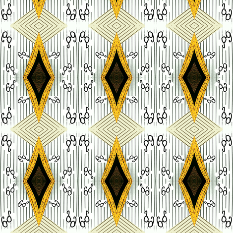 Geek Chic Generations fabric by krussimages on Spoonflower - custom fabric