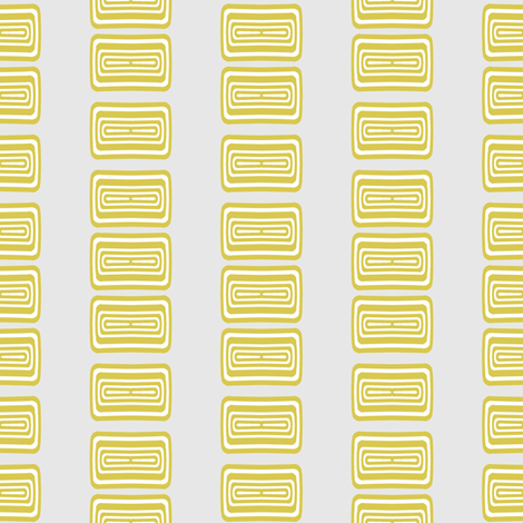 Modern Lozenge Gray and Gold Coordinate fabric by joanmclemore on Spoonflower - custom fabric