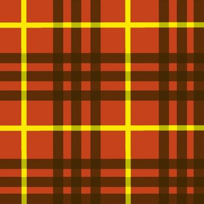 celtic tomato red plaid