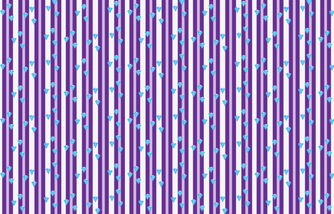 Rare Jewels Stripe fabric by undercovernerd on Spoonflower - custom fabric