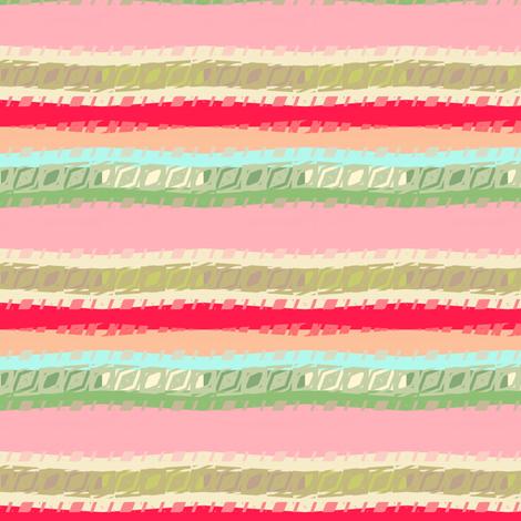 Nursery Geometric stripe fabric by joanmclemore on Spoonflower - custom fabric