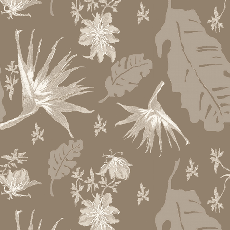Tropical Taupe fabric by paragonstudios on Spoonflower - custom fabric