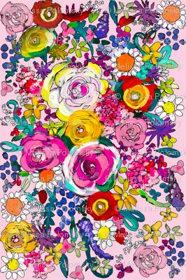Les Fleurs // Baby Pink