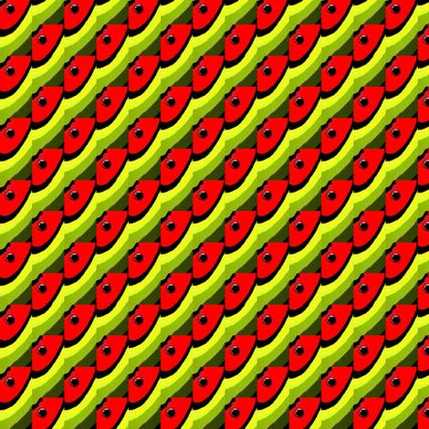 watermelon slice 2 fabric by dk_designs on Spoonflower - custom fabric