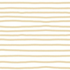 Sketchy Stripes // Biscuit
