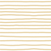 Sketchy Stripes // Biscuit