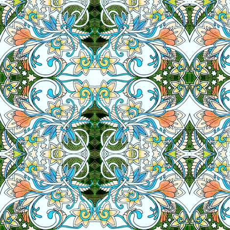 Lazy Days of Summer fabric by edsel2084 on Spoonflower - custom fabric