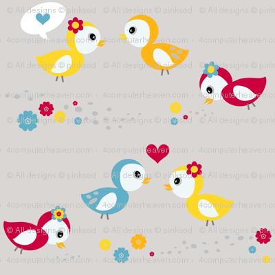 A liL' Birdy Told Me! - Sweet Birds of Summer - Summer Party - © PinkSodaPop 4ComputerHeaven.com