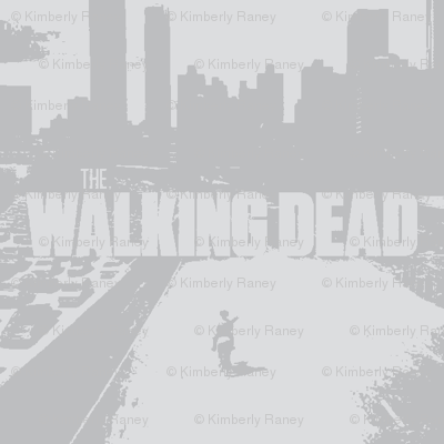 The Walking Dead, faded & whitewashed