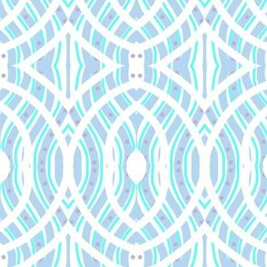 Purple Oval Pattern