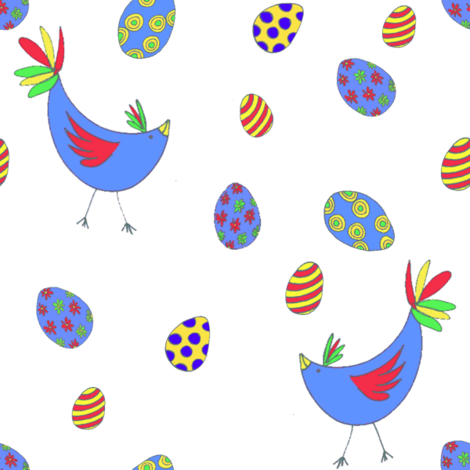 Sweet Tweets fabric by wednesdaysgirl on Spoonflower - custom fabric