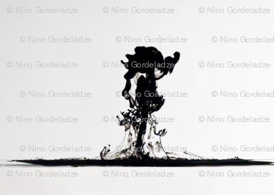 Black Ink Drop (Sale)
