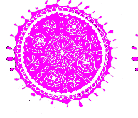 Whimsical Flower fabric by artthatmoves on Spoonflower - custom fabric