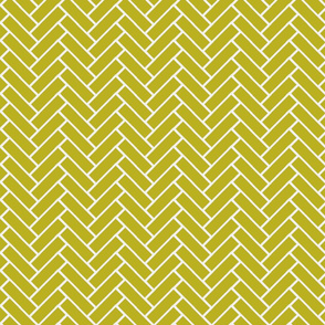 herringbone wasabi and white-ch