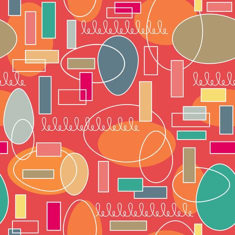Jetson eggs!  fabric by vo_aka_virginiao on Spoonflower - custom fabric