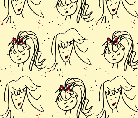 Moxie Madge fabric by runningshoes on Spoonflower - custom fabric
