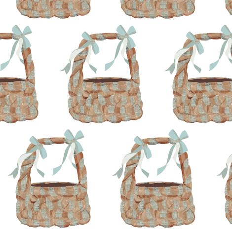 Easter Baskets fabric by karenharveycox on Spoonflower - custom fabric