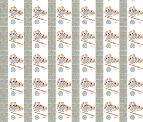 A Bees Knees Egg fabric by karenharveycox on Spoonflower - custom fabric