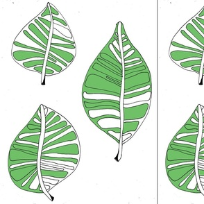 Green Garden Leaf