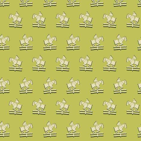 Old School Hunter fabric by ragan on Spoonflower - custom fabric