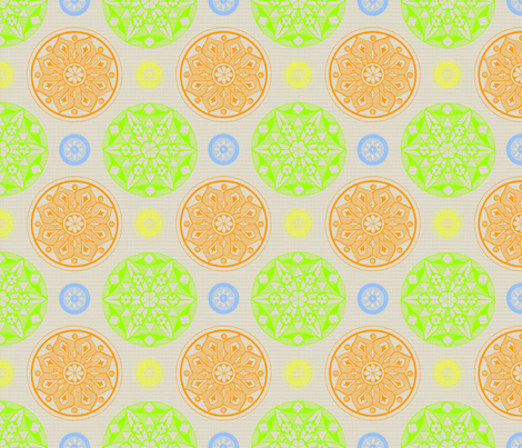 Medallion - woven - multi fabric by cameronhomemade on Spoonflower - custom fabric