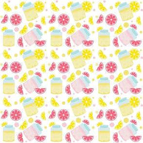 Lemonade & Polka Dots