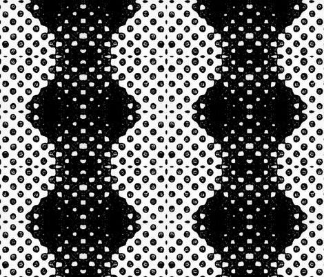 Black Ink Dots (Sale) fabric by ninka on Spoonflower - custom fabric