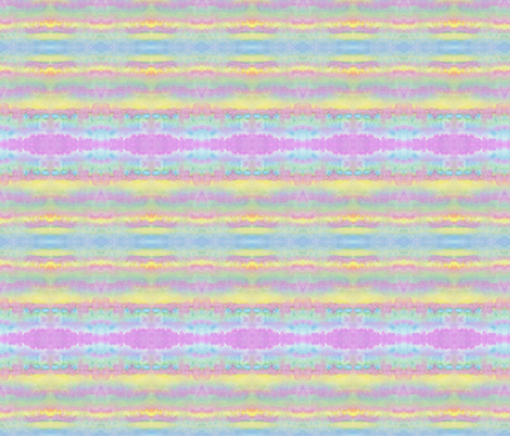 WatercolorPastelStripes fabric by ghennah on Spoonflower - custom fabric