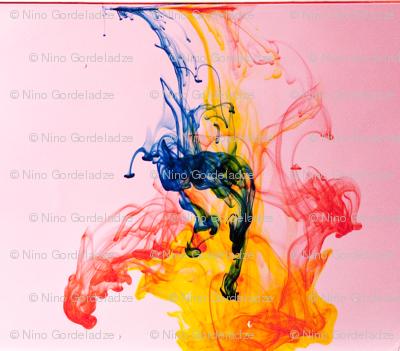 RGBY Ink Drops (Sale)