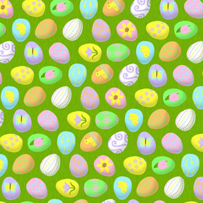painted eggs 2 - 150
