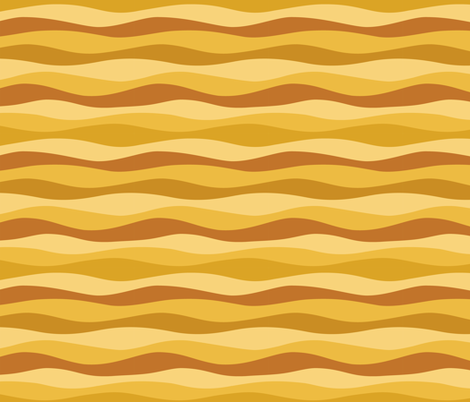 amber waves fabric by darcibeth on Spoonflower - custom fabric